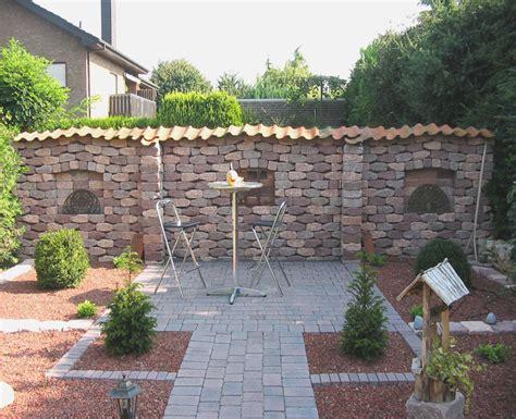 Gartenmauer Selber Machen steine gartenmauer selbst bauen treefunder co