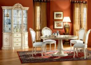 ivory dining room sets rosella dining room set ivory dining sets esf rosella set 6 vory 3