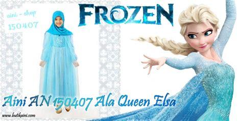 busana muslim anak frozen 22 baju pesta anak perempuan ala frozen elegantria