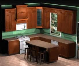 Kitchen interior design small layouts case