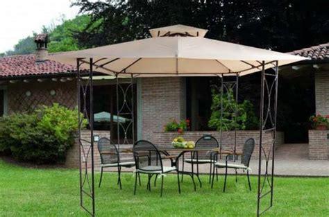 gazebo in ferro 3x3 gazebi ombrelloni gazebo giardino 3x3 metri telaio in