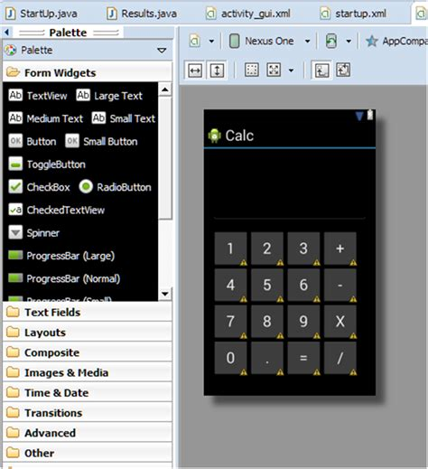 how to create an app for android how to make a calculator app for android the programmer