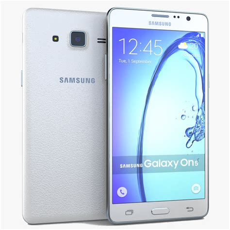 new samsung galaxy on5 white 4g lte at t t mobile unlocked smartphone ebay
