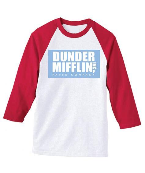 Tshirt Roffico Cloth 1 office dunder mifflin raglan baseball t shirt
