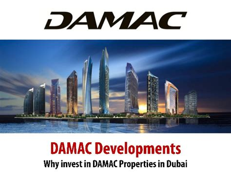 Mba In Real Estate Management In Dubai by Why Invest In Dubai Damac Properties