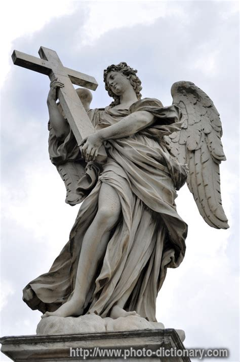angel statue photo picture definition at photo