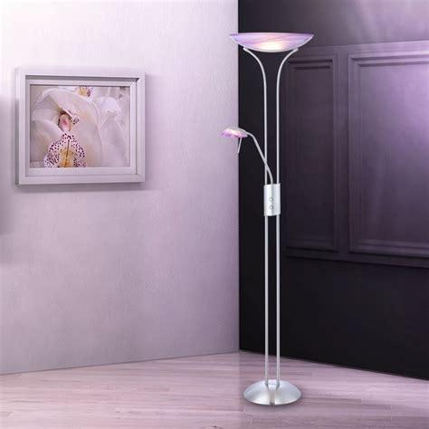 wohnzimmer standleuchte wohnzimmer standle lila stehleuchte standlicht