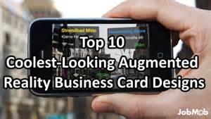 augmented reality business card augmented reality top 10 coolest looking augmented