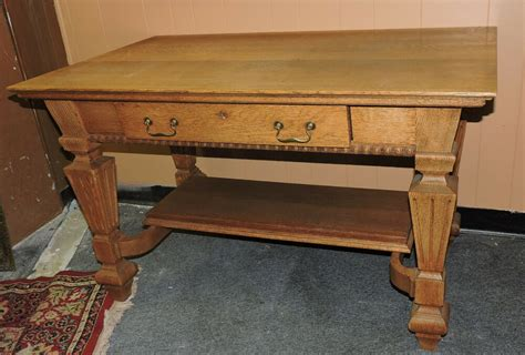 Antique Tiger Oak Desk by Beautiful Antique Quarter Sawn Tiger Oak Writing Table