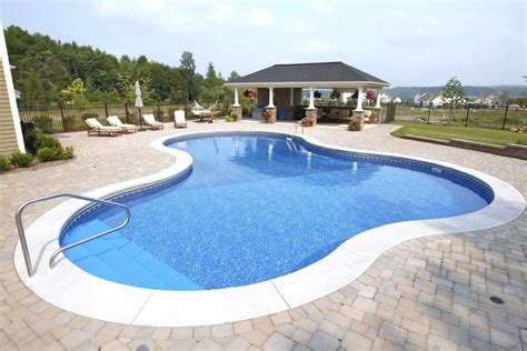 with pool lagoon shaped inground pools cannon pools and spas