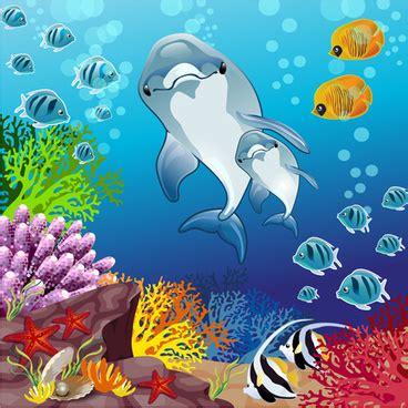 wallpaper underwater cartoon free vector underwater free vector download 129 free