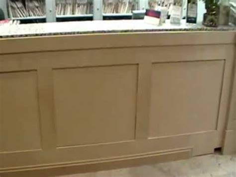 Reception Desk Panels Started Youtube Build A Reception Desk