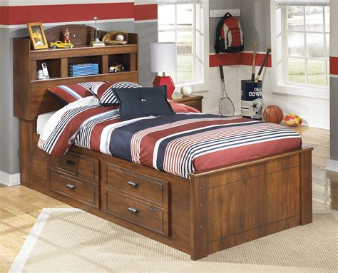 ashley furniture bed with storage barchan bookcase bed with storage bernie phyl s