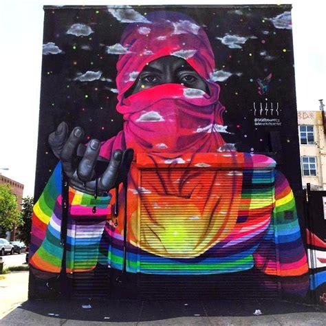 dasic fernandez  mural   bushwick collective