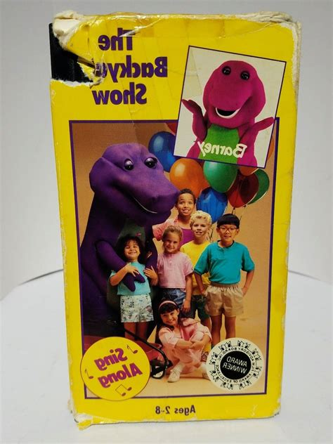 barney the backyard show vhs barney the backyard show vhs pictures to pin on pinterest