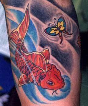Butterfly Koi Tattoo | coy fish tattoo designs tattoo designs
