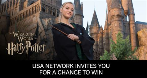 Universal Sweepstakes - usa network universal parks sweepstakes 2017