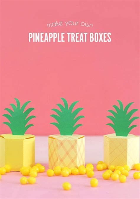 treat boxes templates 197 best silhouette paper crafts images on