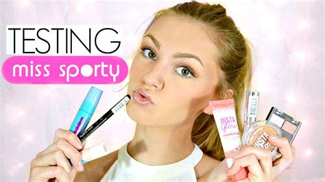 Make Up Just Miss testing miss sporty makeup does it work