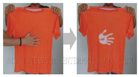 color changing clothes promotional temperature sensor color change tshirt buy