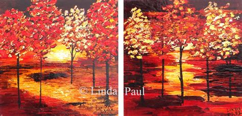 Wall Paintings For Living Room landscape paintings of trees contemporary tree paintings