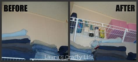 How To Put Up Shelves In A Closet by Storage Solutions From Wasted Space S Crafty