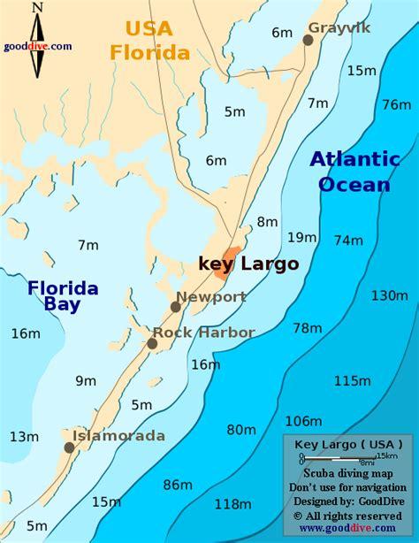 where is key largo florida map key largo map gooddive