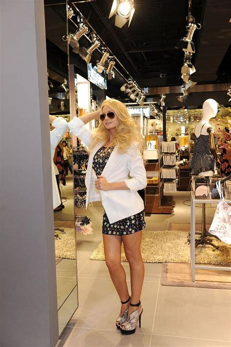 Las Vegas Xtina Style by Topshop Topman Opens New Store In Fashion Show Mall In Las