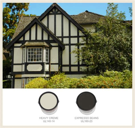 europe house color palette colorfully behr tudor style