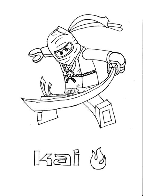 Lego Ninjago Coloring Pages Free Printable Pictures Lego Ninjago Color Pages