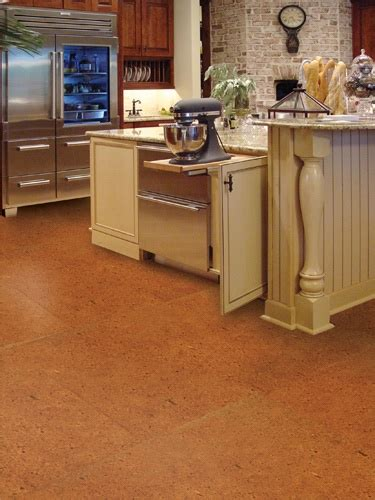 cork floors in kitchen six top flooring ideas for 2011