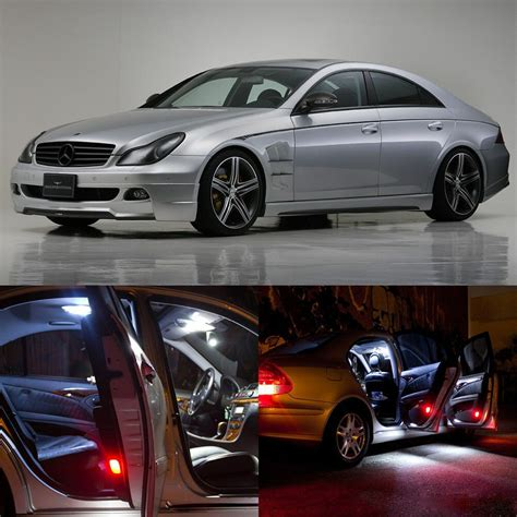 how things work cars 2010 mercedes benz cls class parking system 16 215 white interior led light kit for mercedes benz cls class w 219 2006 2010 ebay