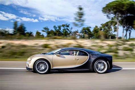 bugatti chiron gold bugatti chiron fuel economy ratings better than veyron