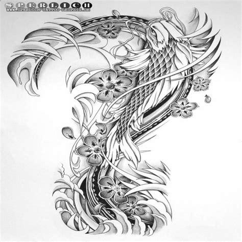 einzigartige koi tattoo vorlagen kostenlos