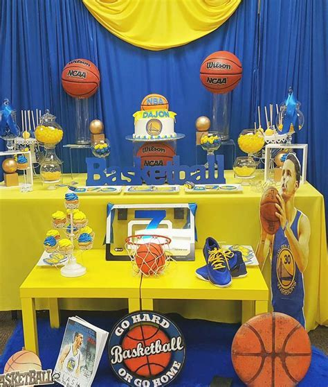 Stephen curry Birthday Party Ideas   Photo 9 of 19   Catch