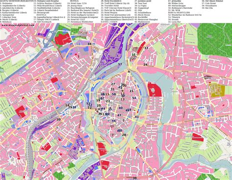 lubeck city map lubeck city map 28 images lubeck map and lubeck