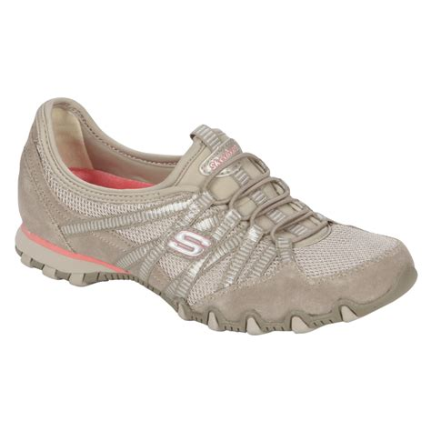 sears womens athletic shoes sketchers ticket white athletic shoe hit the in