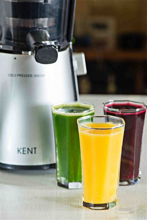 Detox Juice Makers by Three Delicious Juice Recipes With Kent Cold Pressed