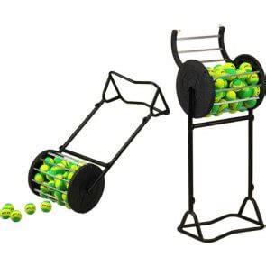 tennis ball collector pros pro more ball collectors