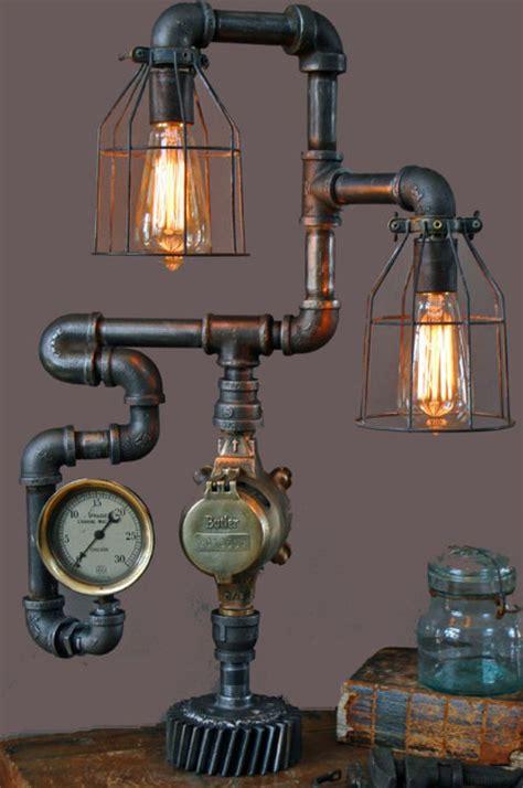 Bedroom Light lampe steampunk steampunk objets pinterest steampunk