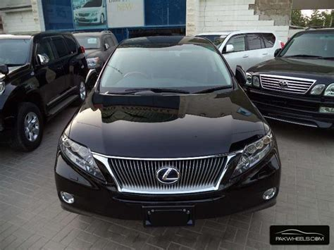 lexus pakistan lexus rx series 450h 2010 for sale in karachi pakwheels