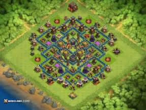 Farm base th10 th10 clash of clans farming base layout