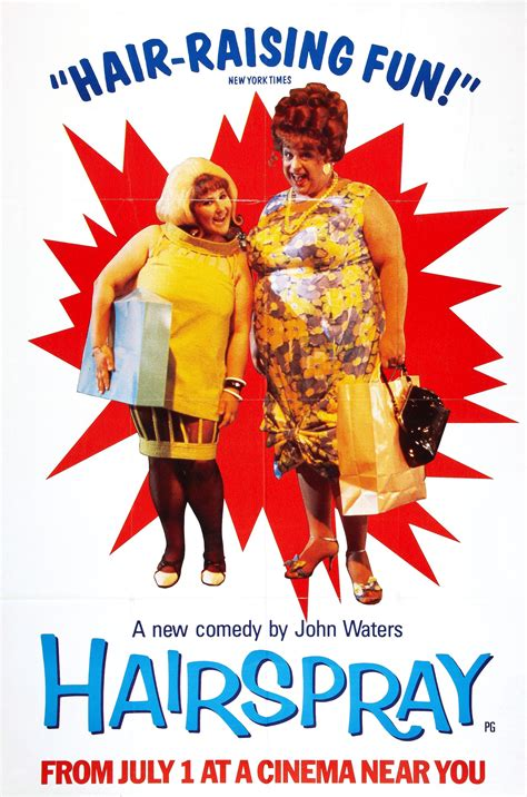 Hairspray Soundtrack Out Today by Poster For Hairspray 1988 Usa Wrong Side Of The