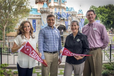 Cost Chapman Mba by Career Dreams Come True For Alumni Who Earn Their Disney