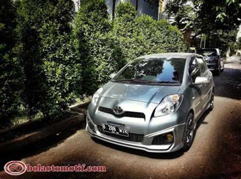 Knalpot Mobil Toyota Yaris modifikasi toyota yaris s limited a t trd sportivo medium silver dari wira bolaotomotif