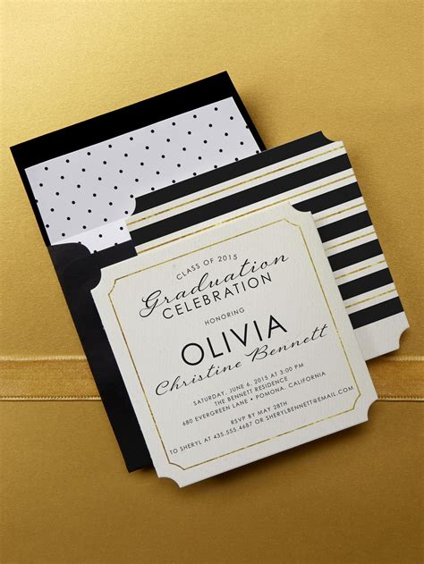 Tiny Prints Wedding Invitations by Be Merry Gold Silver Cards Tiny Prints