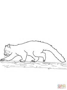 red panda walking coloring page supercoloring com