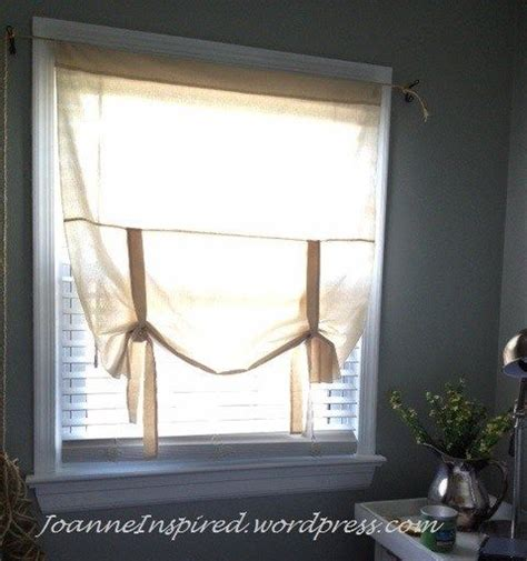 sewing pattern tie up curtains simple muslin tie up shade shades sewing and patterns