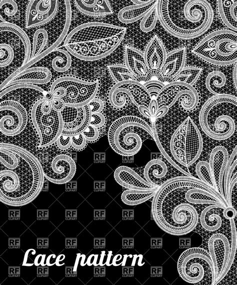 lace pattern vector art abstract floral lace pattern royalty free vector clip art