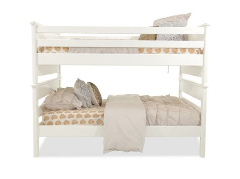 White Loft Bed by Contemporary Youth Bunk Bed In White